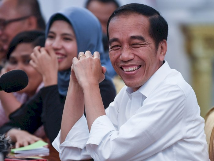 Jokowi Ajak Generasi Milenial Bergandengan Tangan Memajukan Bangsa