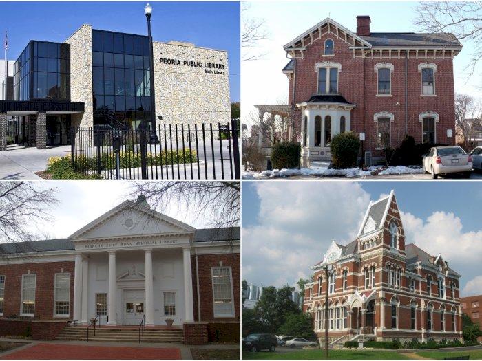 Dibangun Ratusan Tahun Lalu, 5 Perpustakaan Ini Angker dan Berhantu