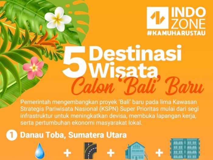5 Destinasi Wisata Calon 'Bali' Baru