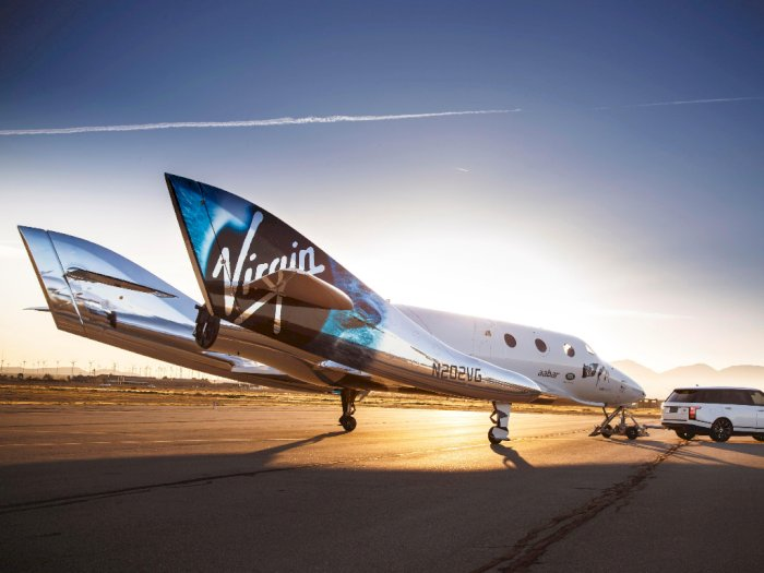 Pesawat Virgin Galactic Bisa Bawa Penumpang Berwisata ke Luar Angkasa