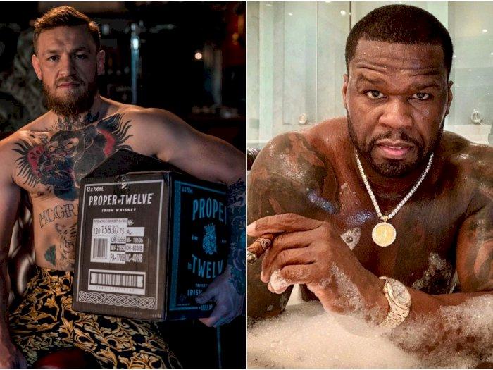 Wajahnya Sering Dijadikan Meme, McGregor Tantang  50 Cent Duel