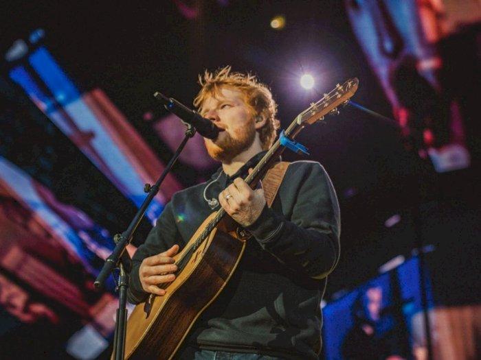 Ed Sheeran Jadi Selebritas Inggris Terkaya