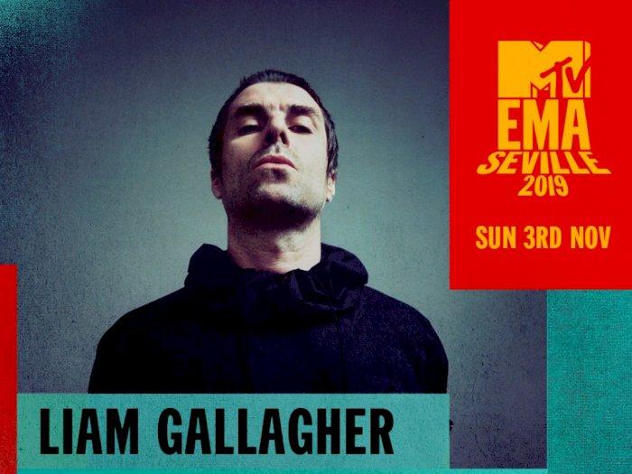 Liam Gallagher Jadi Ikon Rock Pertama di MTV European Music Awards