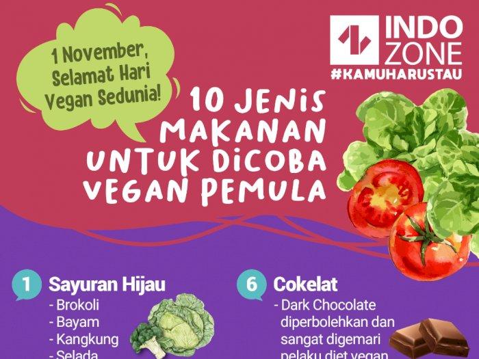 10 Jenis Makanan Untuk Dicoba Vegan Pemula