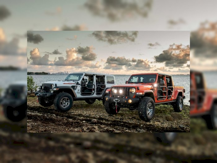 Jeep Edisi Spesial untuk Miami Hanya 350 Unit