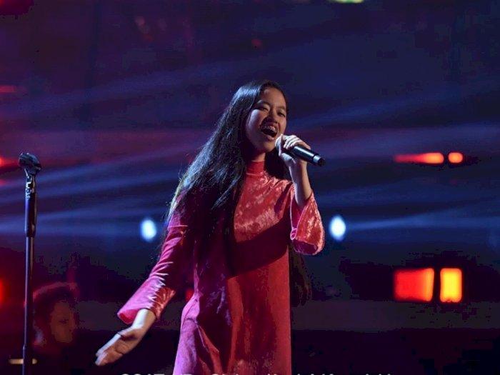 Penampilan Memukau Claudia Santoso di Semifinal TVoG