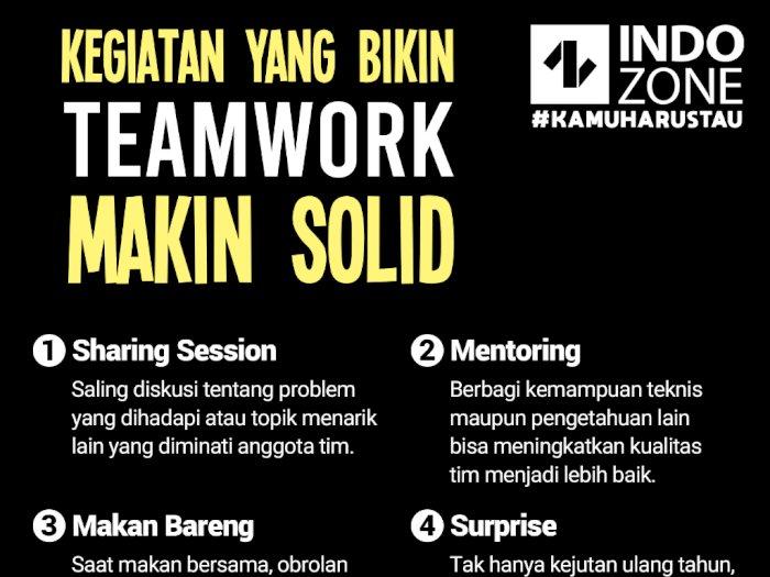 Kegiatan yang Bikin Teamwork Makin Solid