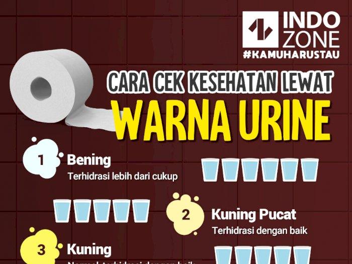 Cara Cek Kesehatan Lewat Warna Urine