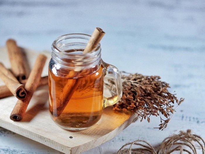 Minuman Pereda Batuk, Teh Herbal Kayu Manis