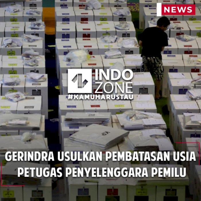Gerindra Usulkan Pembatasan Usia Petugas Penyelenggara Pemilu