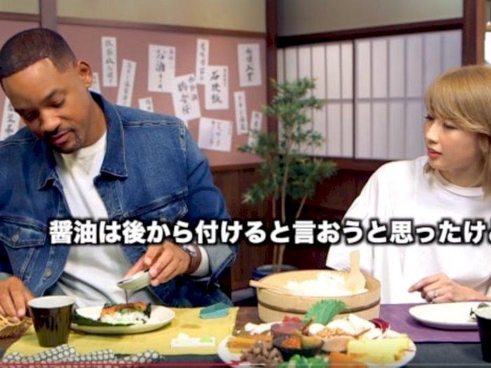"Promosi Film di Jepang, Will Smith Membuat Sushi ""Makizushi"""