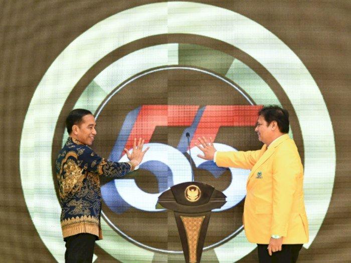 Airlangga Hartarto Diminta Cermati Makna di Balik Pujian Jokowi