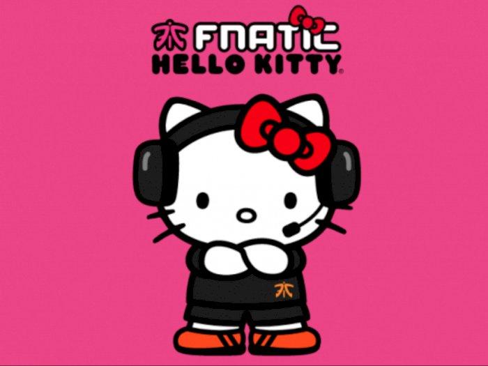 Organisasi Esports Fnatic Jalin Kerja Sama Dengan Brand Hello Kitty