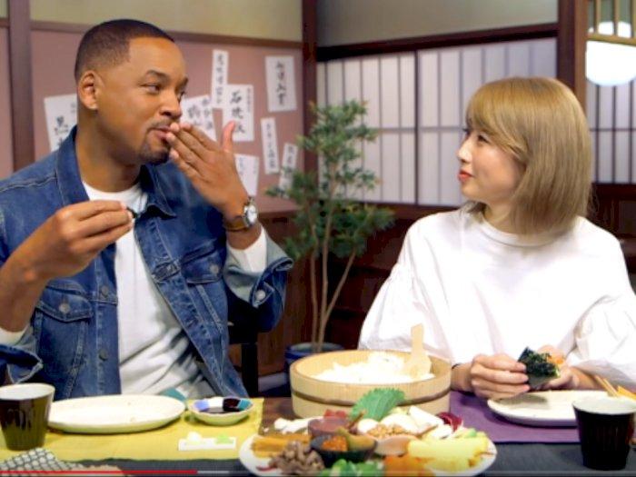 Ke Jepang, Will Smith Belajar Bikin Sushi Nih