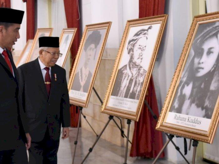 Jokowi Pimpin Upacara Ziarah Nasional Hari Pahlawan