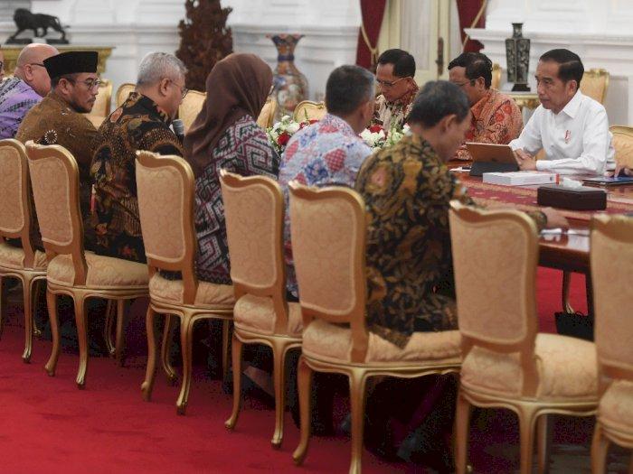 Bertemu Presiden Jokowi, Pimpinan KPU Sampaikan 3 Hal Ini