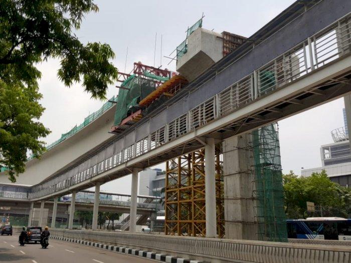 Keren! Proyek LRT Jabodebek Masuk Rekor Muri