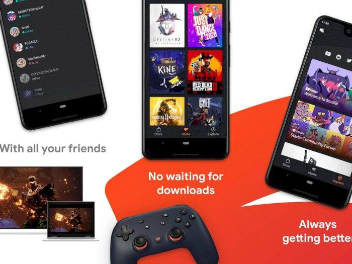 Segera Dirilis, Aplikasi Stadia Kini Tersedia di Google Play Store