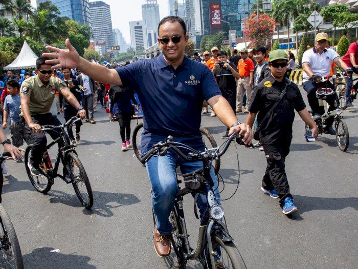 Revitalisasi Trotoar Buat Macet, Anies: Yang Bikin Macet Mobil & Motor