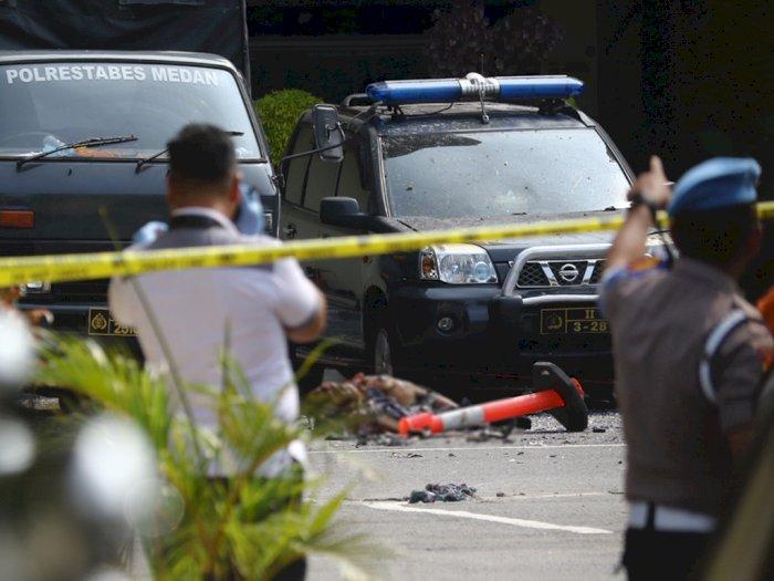 Polisi Amankan 6 Jenis Barang Bukti di Lokasi Ledakan Bom Medan