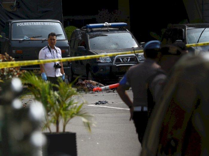 Jaringan Bomber Polrestabes Medan Dikantongi, Polisi Tangkap 8 Orang
