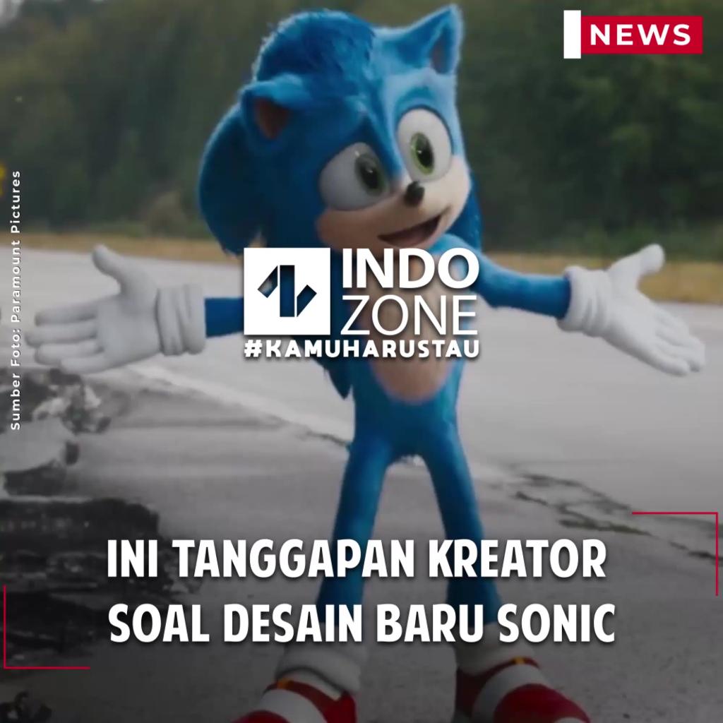 Ini Tanggapan Kreator Soal Desain Baru Sonic