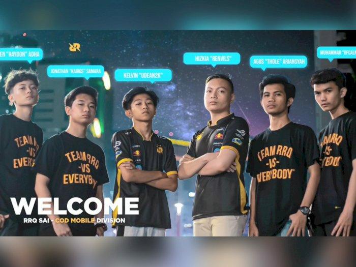 Bukan RRQ Endeavour, Inilah Roster Terbaru Tim RRQ Divisi CoD: Mobile