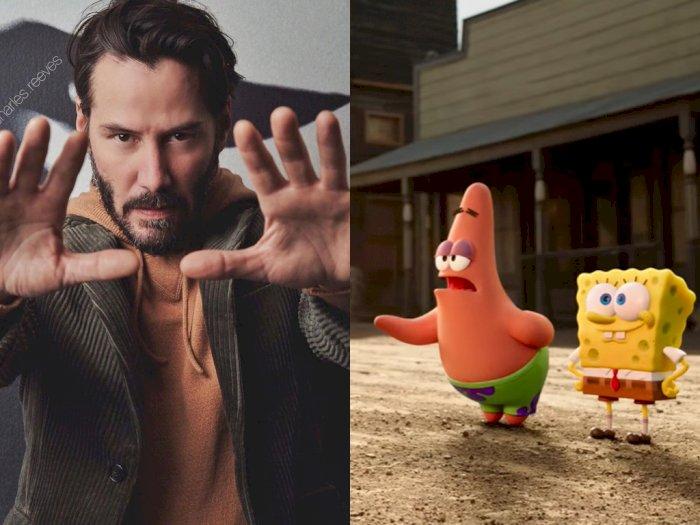 Bakal Ada Keanu Reeves di Film Spongebob Tahun Depan