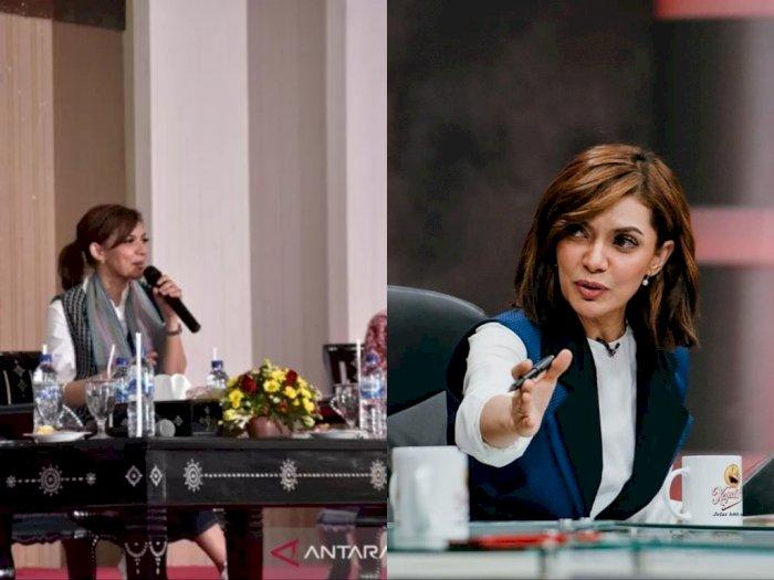Najwa Shihab Motivasi Warga NTB Untuk Gemar Membaca
