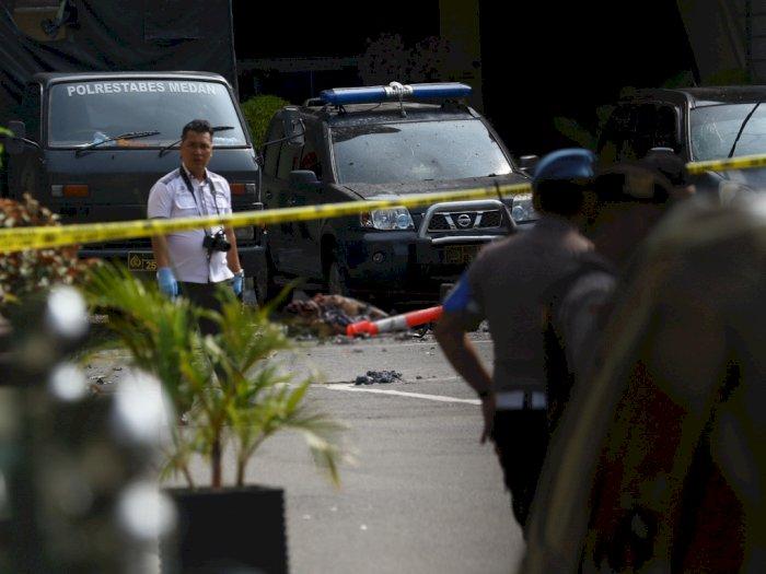 Polisi Amankan 14 Orang Terkait Bom Medan, 9 Berpotensi Jadi Tersangka