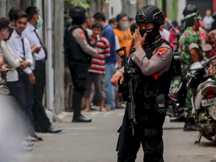 Melawan Petugas, 2 Terduga Teroris Ditembak Mati
