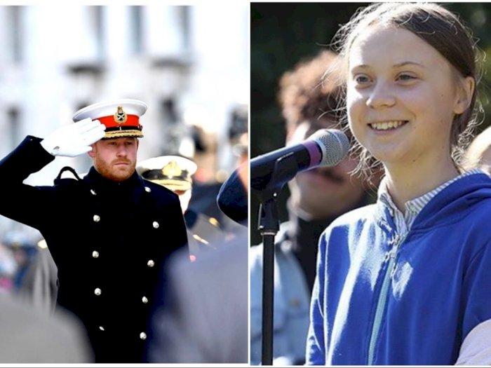 Menyorot Perubahan Iklim, Pangeran Harry Menyinggung Greta Thunberg