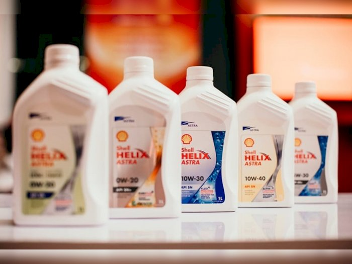 Shell Helix Astra Luncurkan Oli Mobil Anti Overheat