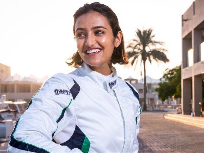Wow, Wanita Bernama Reema Ini Jadi Pembalap Wanita Pertama Arab Saudi