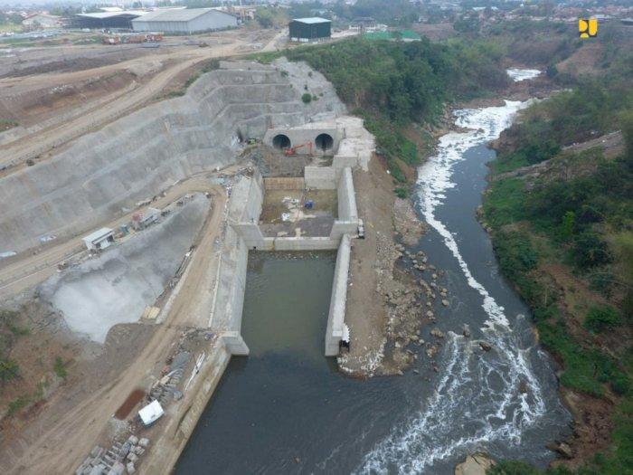 Infrastruktur Pengendali Banjir Bandung Segera Rampung