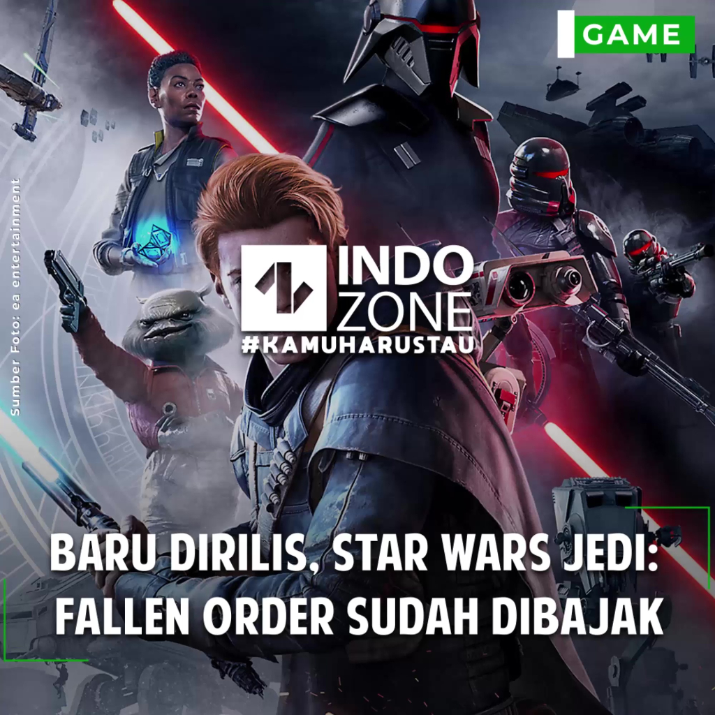 Baru Dirilis, Star Wars Jedi:  Fallen Order Sudah Dibajak