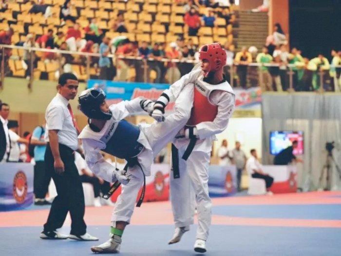 DKI Jakarta Raih Medali Emas Terbanyak Dari Taekwondo Popnas