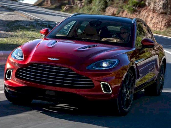Yay, SUV Terbaru dari Aston Martin Resmi Diluncurkan