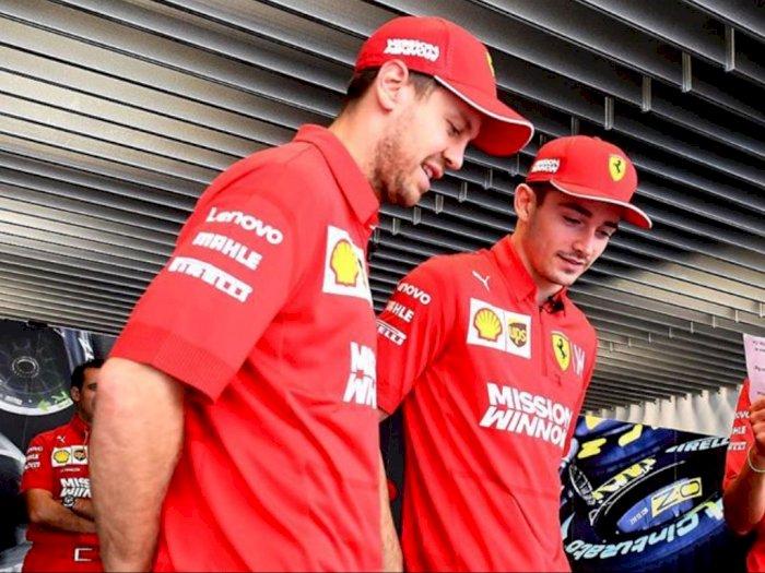 Pasca Insiden, Bagaimana Hubungan Duo Ferrari Vettel dan Leclerc?
