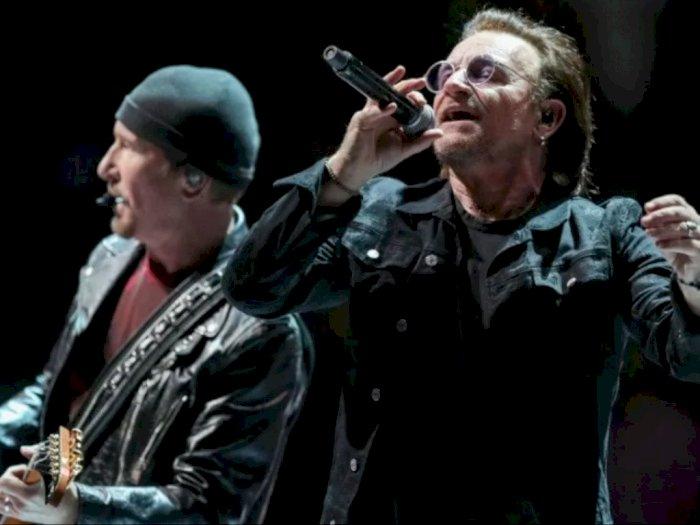 U2 Jadi Artis dengan Tur Tersukses Dekade Ini, Ungguli Ed Sheeran
