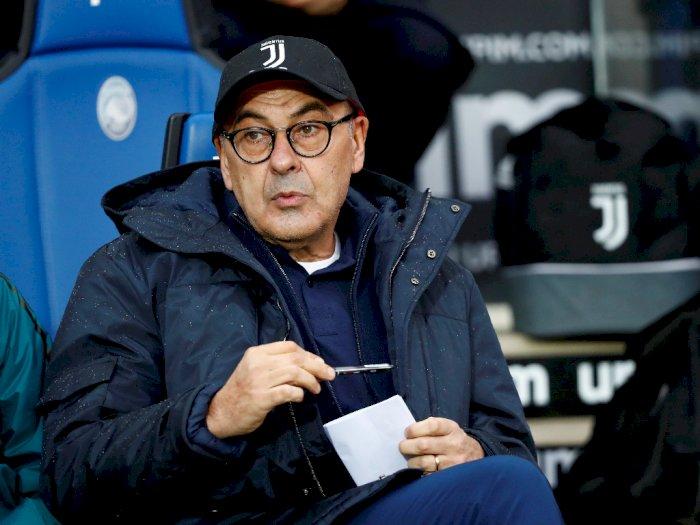 Kalahkan Atalanta, Sarri: Juventus Sedang Beruntung