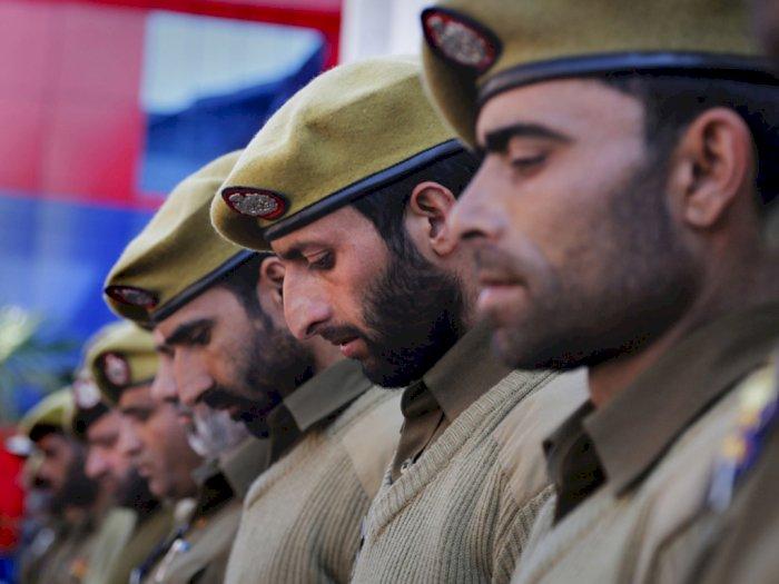 Polisi Muslim di Alwar Lakukan Protes Karena Dilarang Pelihara Jenggot