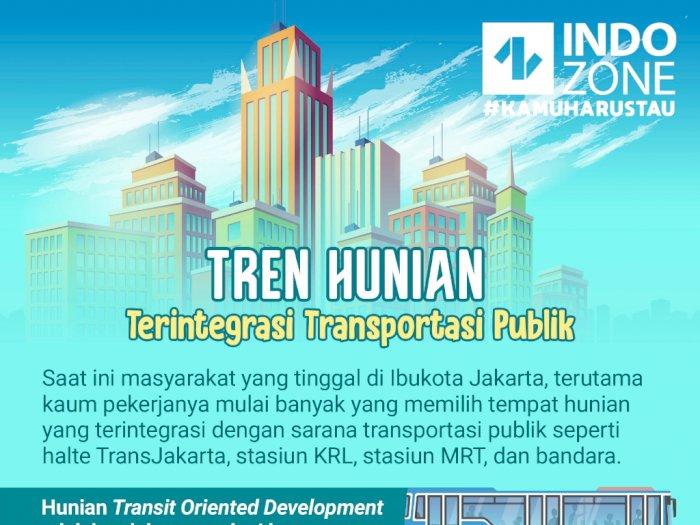 Tren Hunian Terintegrasi Transportasi Publik