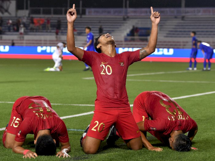 Jokowi Optimis Sepak Bola Indonesia Raih Kemenangan di SEA Games 2019
