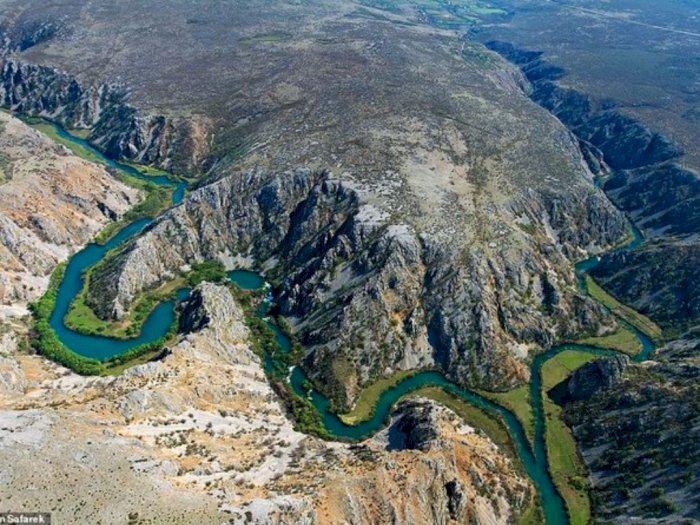 FOTO: Kroasia, Negara dengan Deretan Sungai yang Memesona