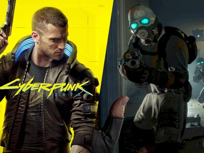Cyberpunk 2077 & Half-Life: Alyx Rilis Berdekatan, CDPR Tidak Takut