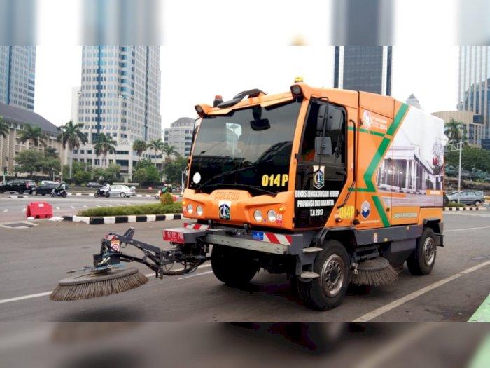 Mengenal Dulevo 6000 Mobil Penyapu Jalan Jakarta dari Italia