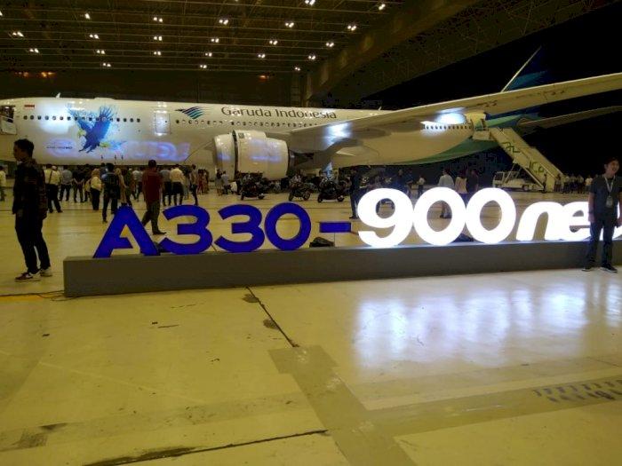 Garuda Indonesia Operasikan Pesawat Wide Body ke Rute Medan dan Manado