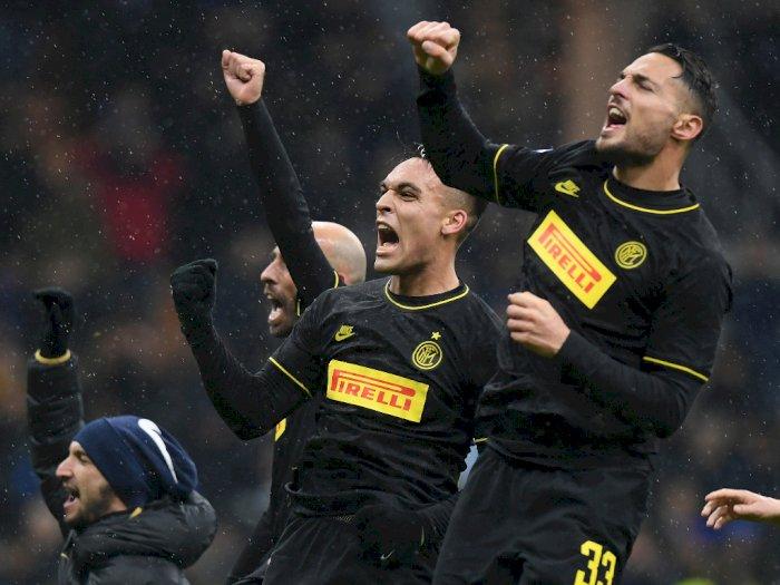 Kalahkan SPAL, Inter Milan Puncaki Klasemen Liga Italia