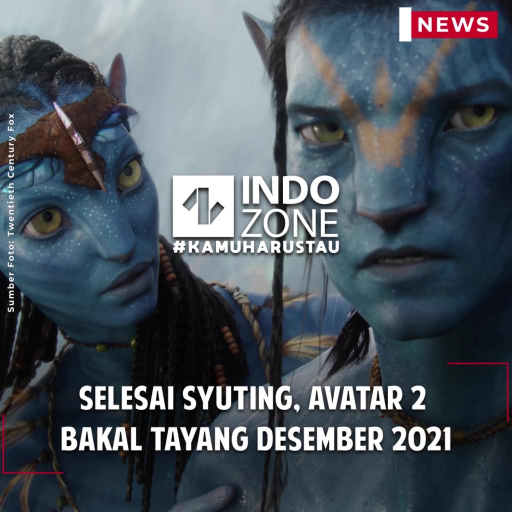 Selesai Syuting, Avatar 2 Bakal Tayang Desember 2021